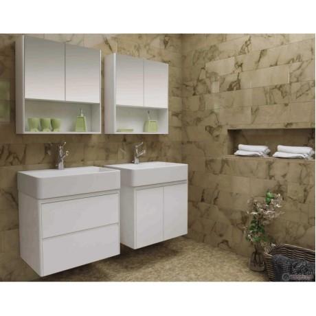 IBERIS Шкаф за баня с огледални врати 60