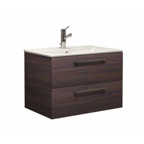 WOOD Мебел за баня с умивалник 75