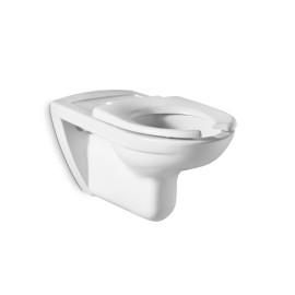 ACCESS Стенна окачена тоалетна чиния с капак и седалка