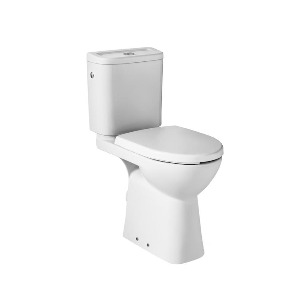 ACCESS Тоалетна чиния тип моноблок, с хоризонтално оттичане и крепежни елементи