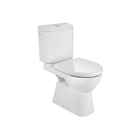 ACCESS Тоалетна чиния тип моноблок, с вертикално оттичане и крепежни елементи