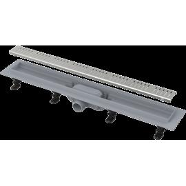ALCA Пластмасов Линеен сифон APZ10 с решетка от неръждаема стомана 550 mm