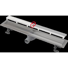 ALCA Линеен сифон APZ13 с двустранна решетка Double 750 mm