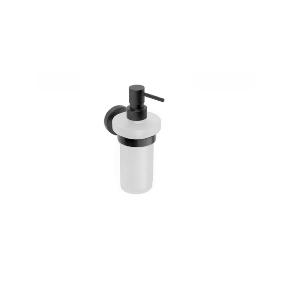 BEMETA Dark Стенен диспенсър за гел 230 ml