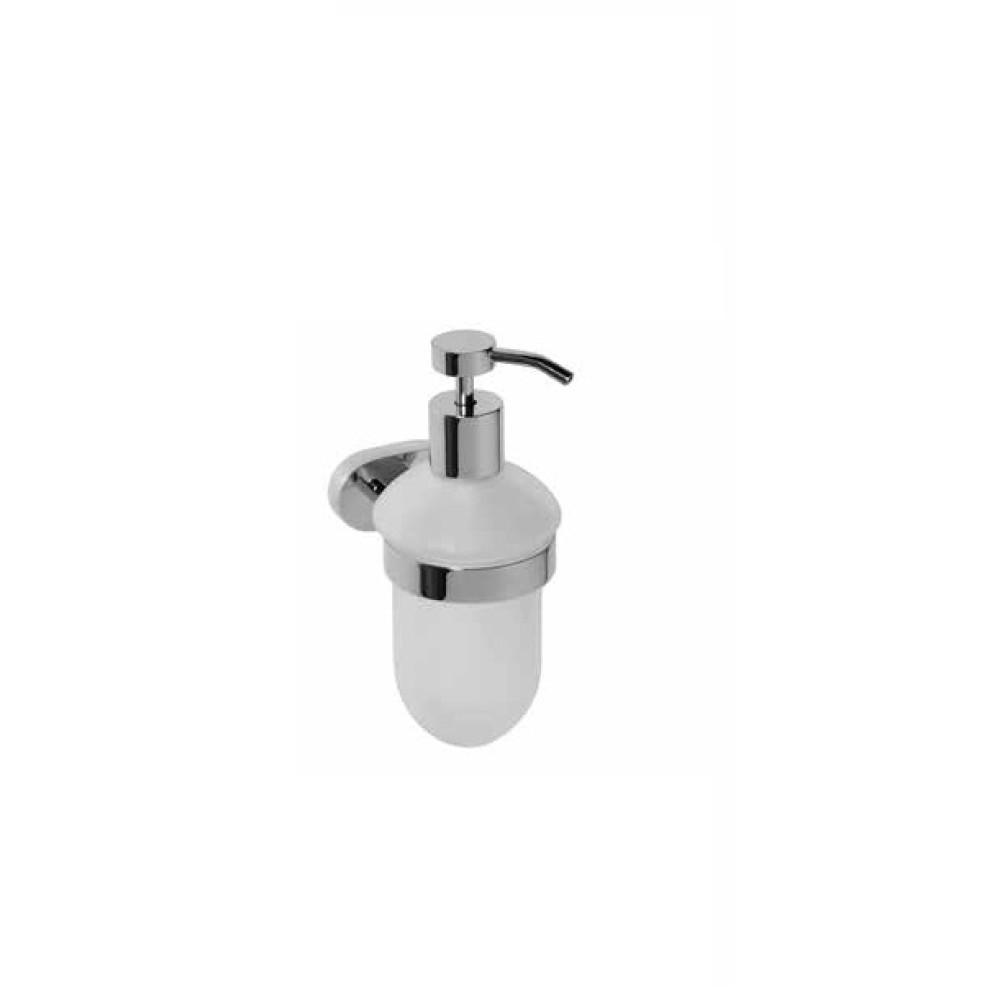BEMETA Oval Стенен диспенсър за гел 200 ml