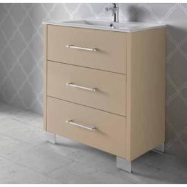 RIGA мебел 70 см за баня стоящ с 3 чекмеджета