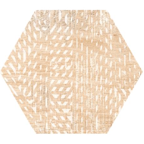Гранитогрес хексагонален HARLEM 25 x 22