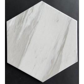 Гранитогрес хексагонален CARRARA 25 x 22