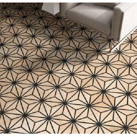 Гранитогрес хексагонален TRIBECA BROWN 25 x 22