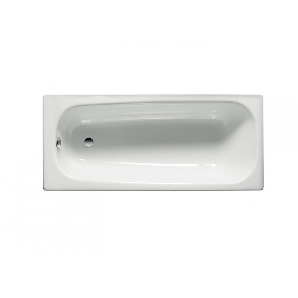CONTESA Правоъгълна Стоманена вана 170 x 70