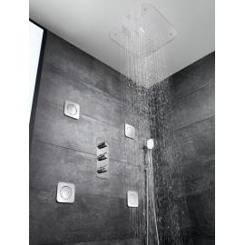 Puzzle Душ глава 420 х 420 мм от неръждаема стомана за монтаж на таван