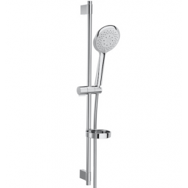 Sensum ROUND 130/4 Душ комплект с душ слушалка с 4 функции, тръбно окачване 800 мм, сапунерка и шлаух