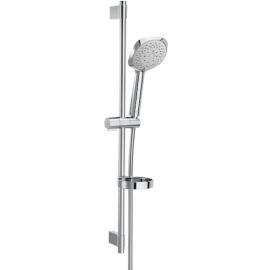 Sensum SQUARE 130/4 Душ комплект с душ слушалка с 4 функции, тръбно окачване 800 мм, сапунерка и шлаух