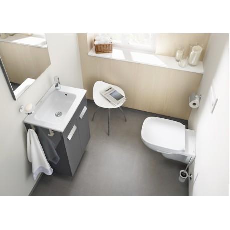 Debba Pack Compact Мебел за баня с умивалник, огледало и аплик 50