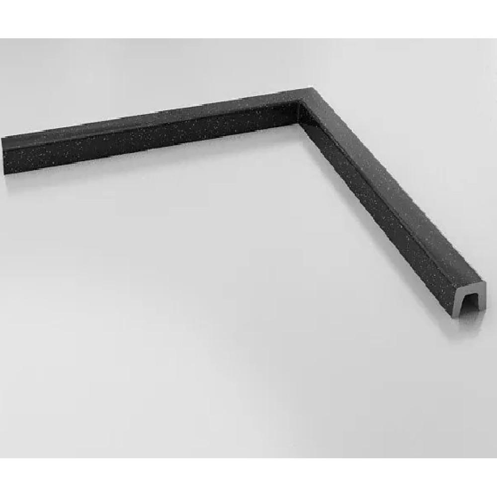 FAT Праг за душ-кабина нестандартен размер до 125х125 от Полимермрамор - Прав ъгъл