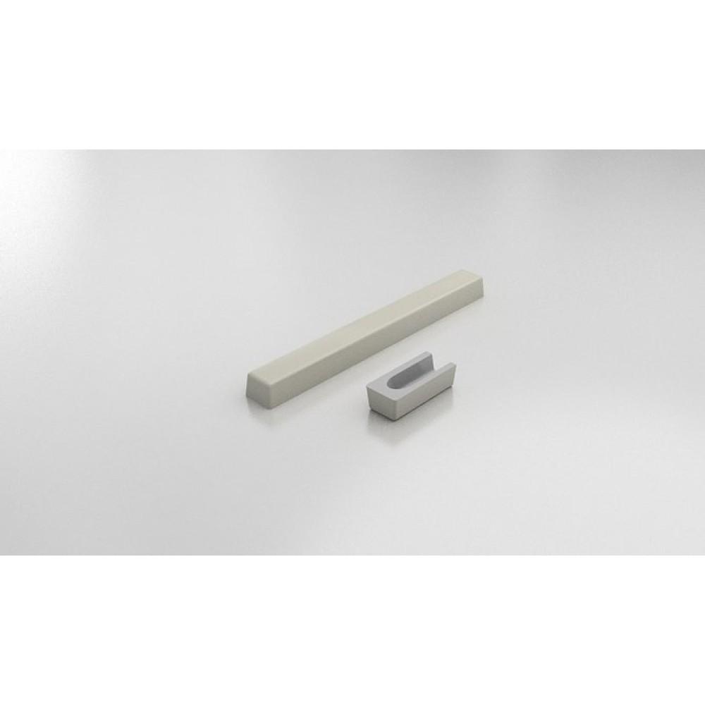 FAT Праг за душ-кабина 80х55 от Полимермрамор - Заоблен Край