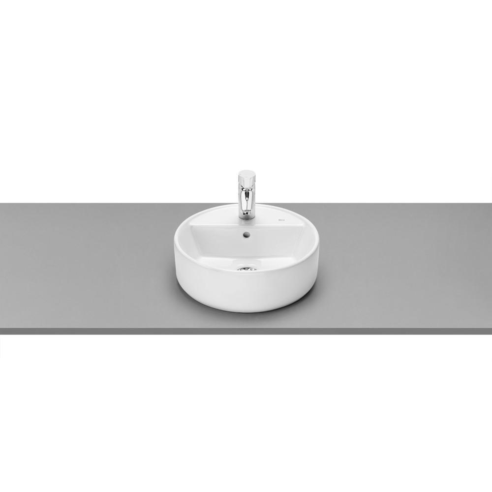 GAP Кръгъл тънкостенен умивалник върху плот