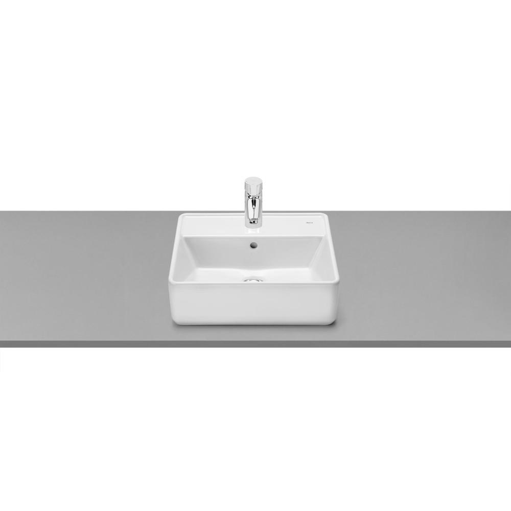 GAP Тънкостенен квадратен умивалник върху плот