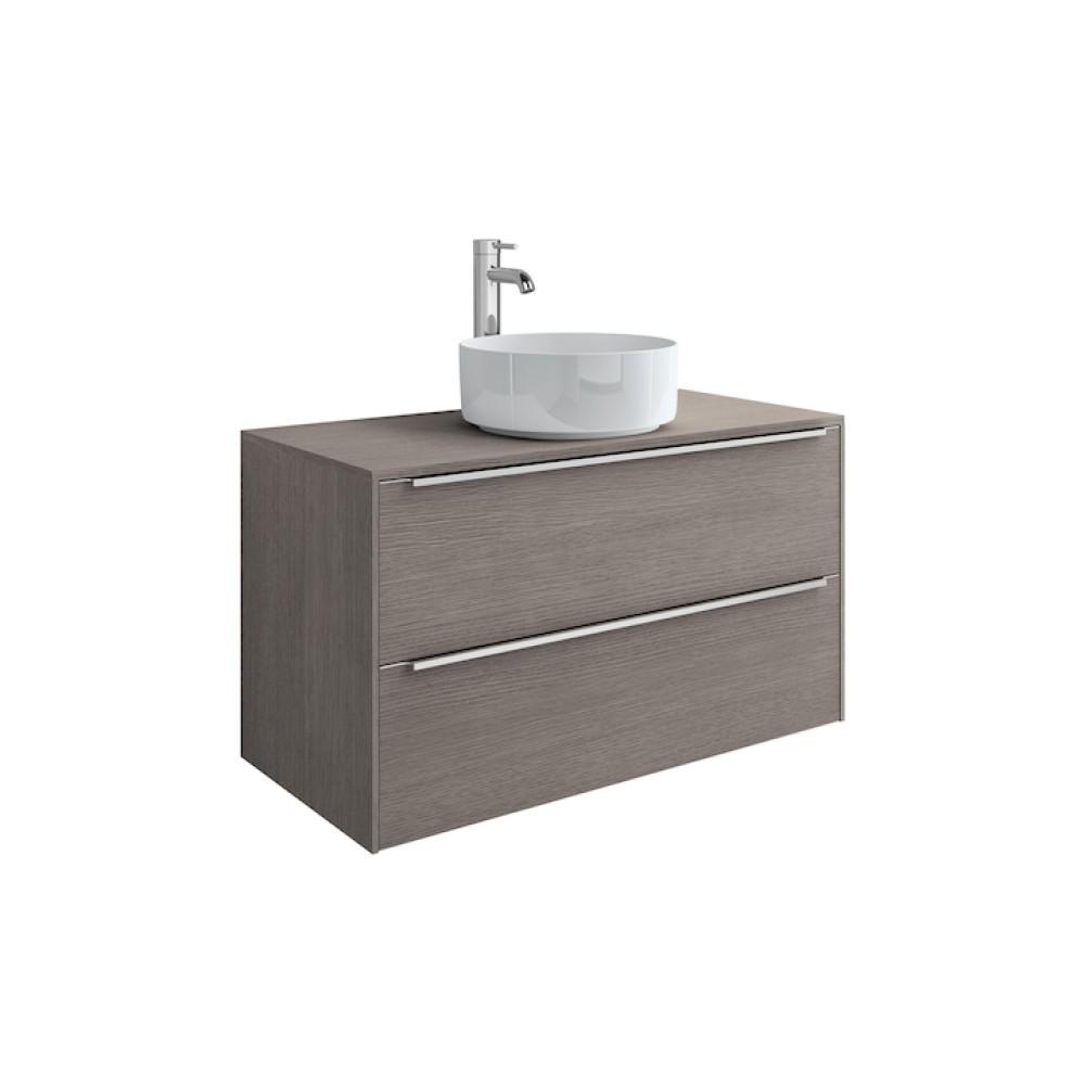 INSPIRA Мебел с умивалник върху плот 60 x 50 Дъб