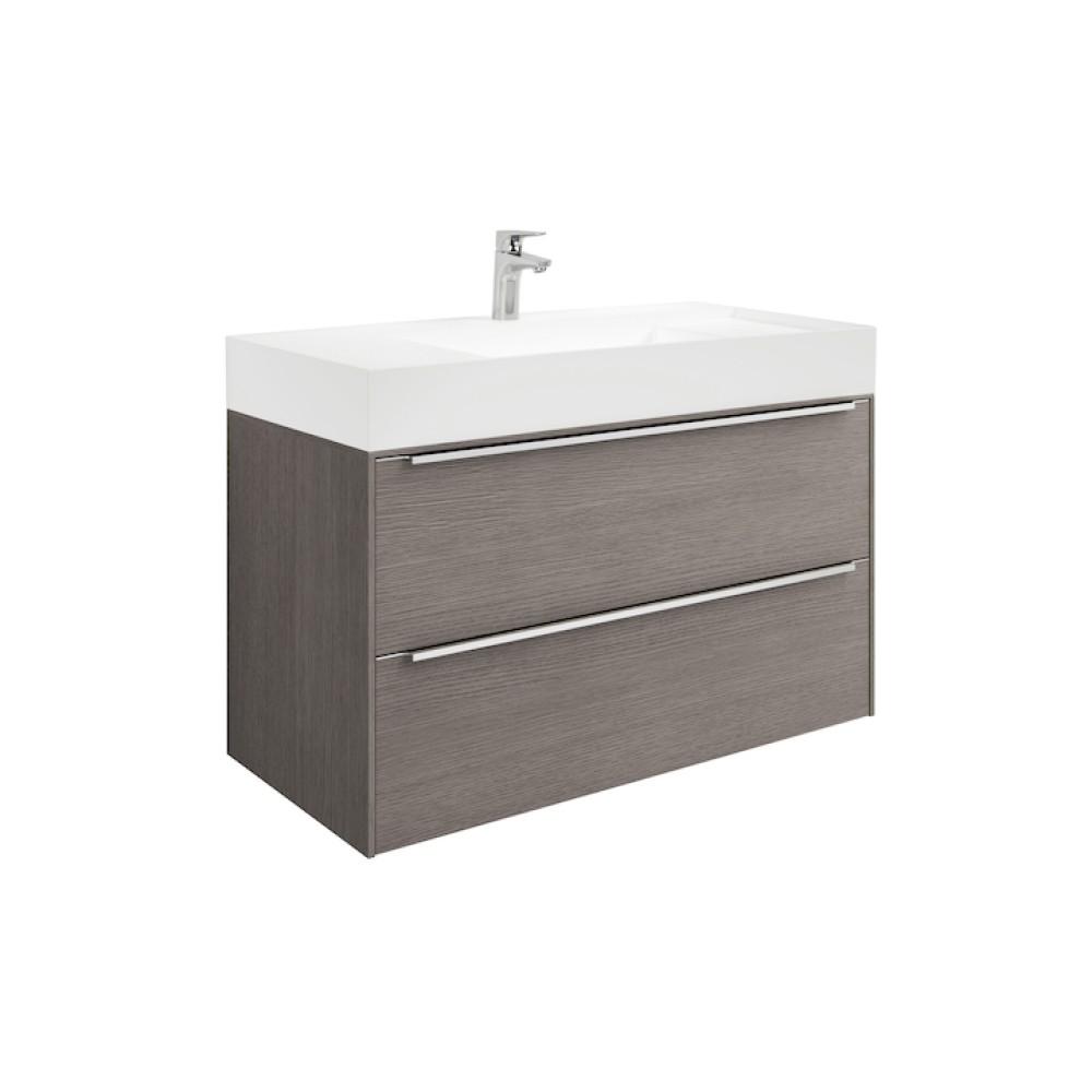 INSPIRA Мебел с умивалник 80 x 50 Дъб