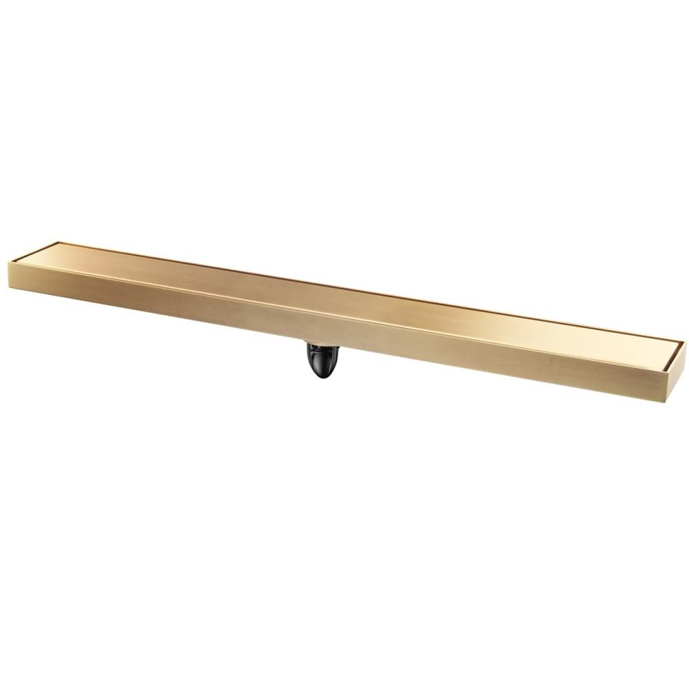 MAGDRAIN Линеен подов сифон JDC55x600Q50-Z - Златен