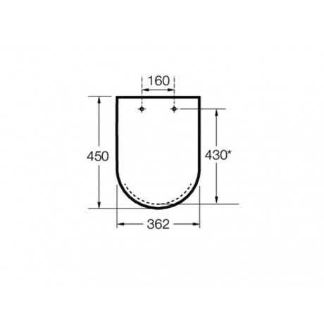 MERIDIAN Compact Soft-Close Седалка и капак за тоалетна SUPRALIT