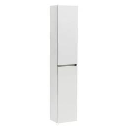 CUBE мебел колона за баня бял гланц