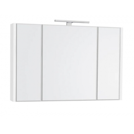 Roca ETNA 100 шкаф за баня с огледало, бял гланц