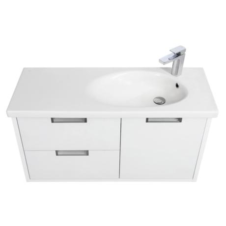 Roca ETNA 80, мебел с умивалник, бял гланц