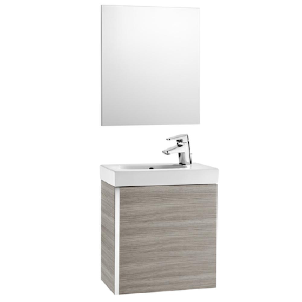 MINI мебел с умивалник и огледало в цвят АРЕНА