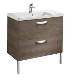 Мебел за баня с умивалник THE GAP 80 см цвят тека