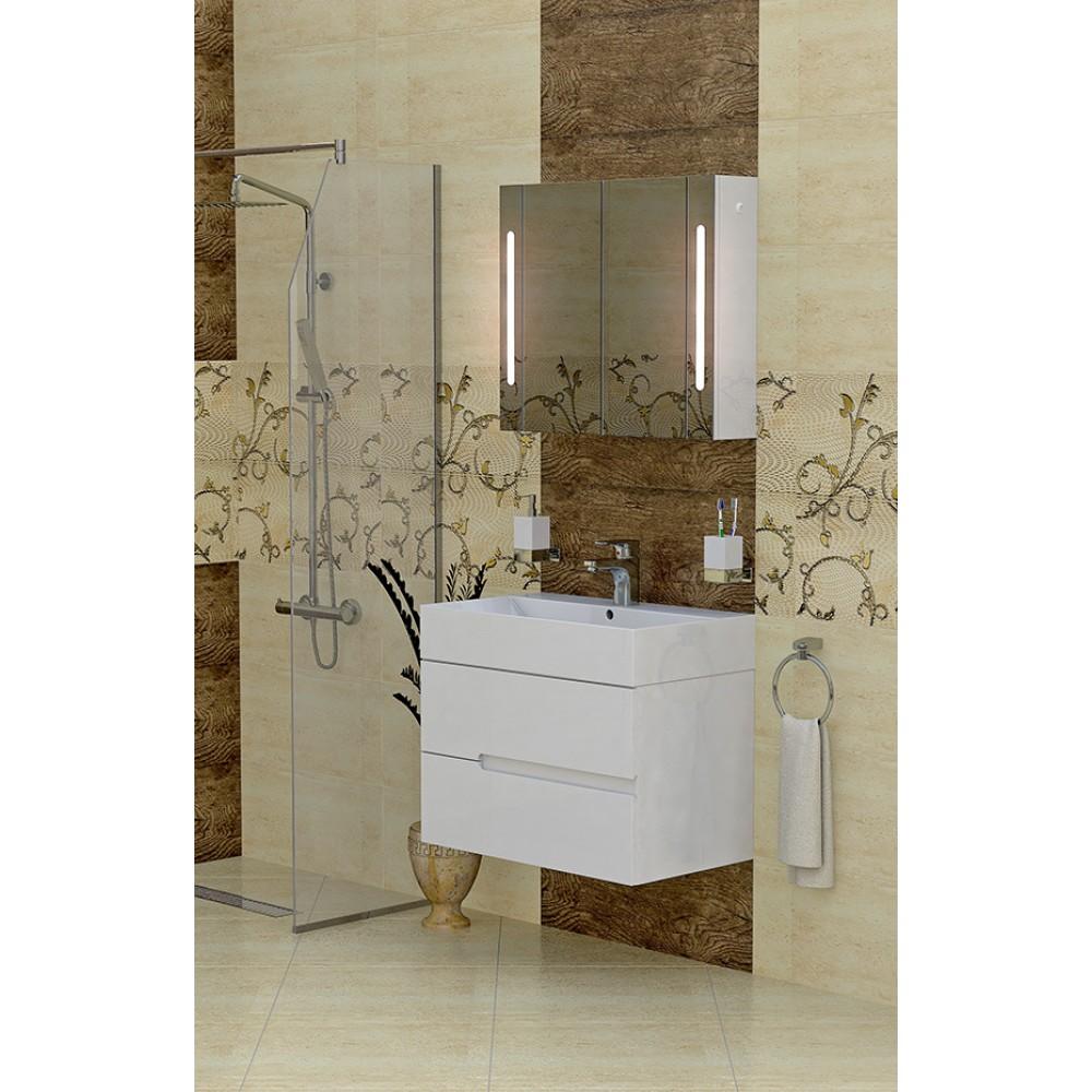 Мебел за баня с мивка GL 70 см