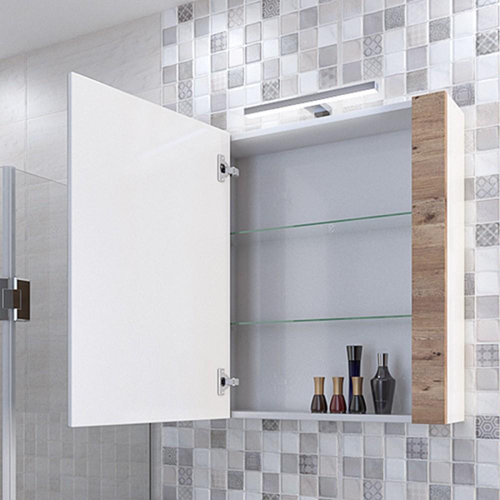 Горен шкаф за баня HN 60 см