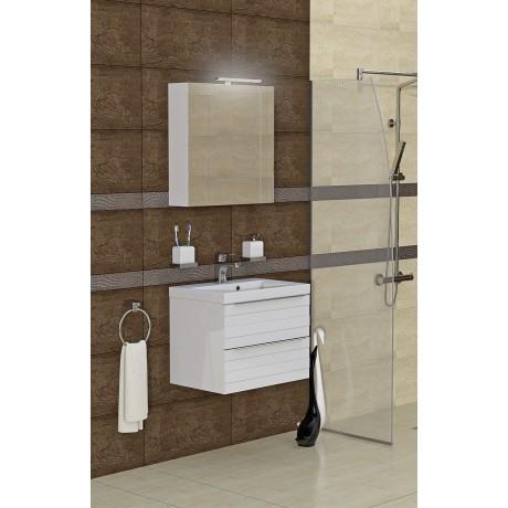 Мебел за баня с мивка TN 60 см