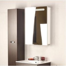 VICTORIA NORD мебел десен с огледало 60 см бял