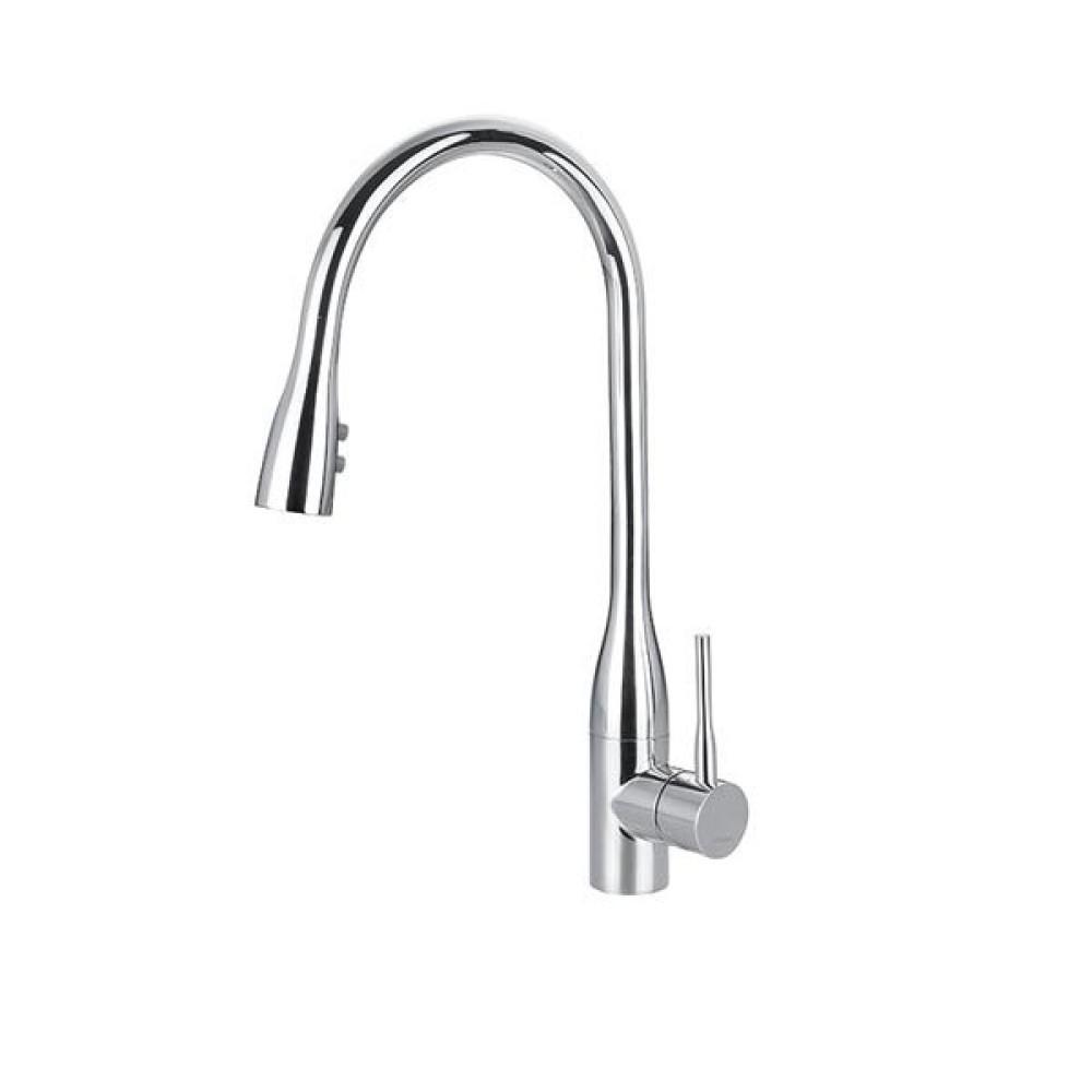 BS07 Стоящ смесител за кухня с душ