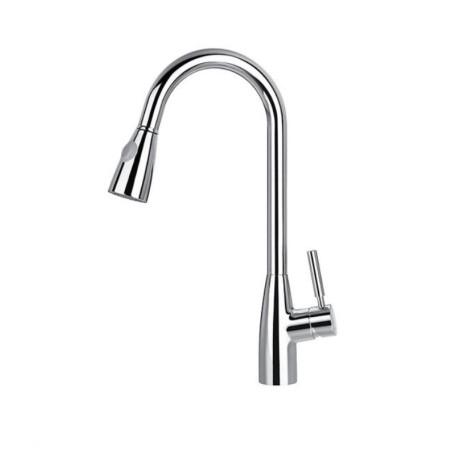 BS01 Стоящ смесител за кухня с изтеглящ се душ