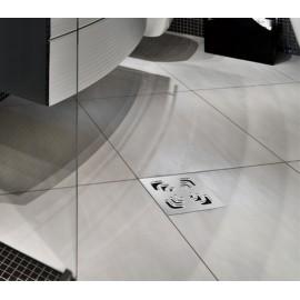 CONFLUO Square 1 15x15 cm Квадратен сифон за под с воден затвор