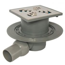 CONFLUO Square 3 15x15 cm Квадратен сифон за под с воден затвор
