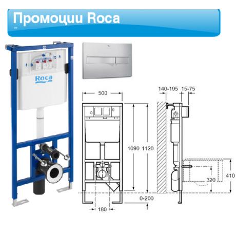 NEXO Промоция конструкция ACTIVE и тоалетна без ръб с тънък капак плавно падане