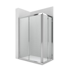 VICTORIA 2L2 square Параван за душ корито 750x750