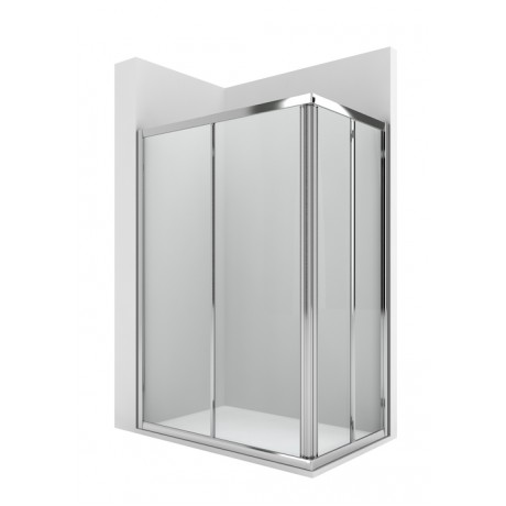 VICTORIA 2L2 rectangle Параван за душ корито 900 x 700