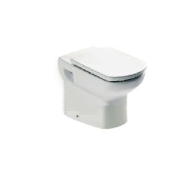 DAMA SENSO стояща тоалетна за високо казанче със седалка и капак