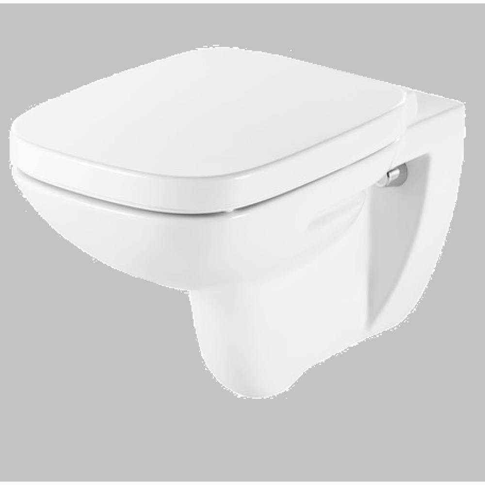 DEBBA Стенна тоалетна със седалка и капак