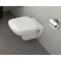 DEBBA Стенна тоалетна със седалка и капак забавено падане