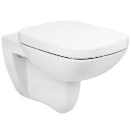 DEBBA SQUARE RIMLESS стенна тоалетна без ръб