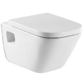 THE GAP Стенна тоалетна със седалка и капак