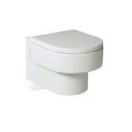 HAPPENING Стенна тоалетна със седалка и капак забавено падане
