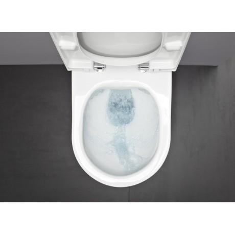 Компактна стенна тоалетна без ръб Laufen PRO