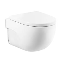 MERIDIAN COMPACT RMLS Стенна тоалетна със седалка и капак SUPRALIT ®